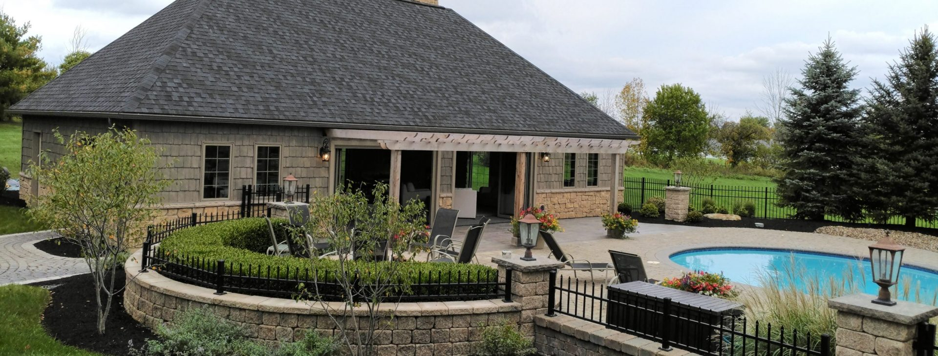 Landscaping excellence, creative solutions, quality craftsmanship.
