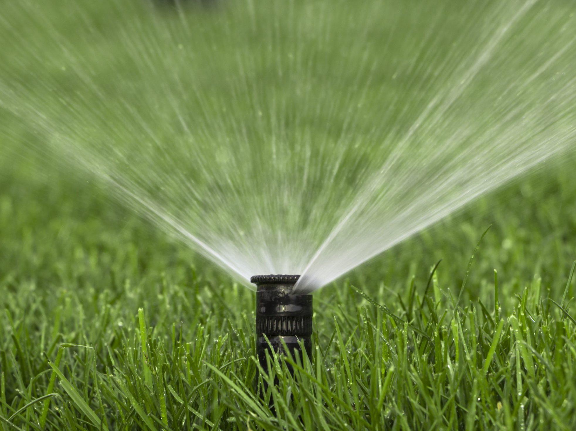 irrigation head close-up